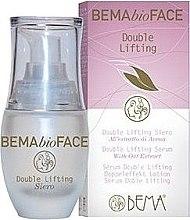 Parfumuri și produse cosmetice Ser facial cu efect de lifting - Bema Cosmetici BemaBioFace Double Lifting Serum