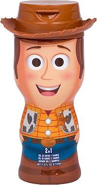Gel de duș - Disney Toy Story 4 Woody Shower Gel — Imagine N1