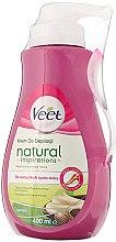 Parfumuri și produse cosmetice Cremă depilatoare cu extract de unt de shea, pentru toate tipurile de piele - Veet Naturals Inspirations