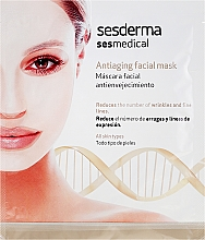 Parfumuri și produse cosmetice Mască de față anti-îmbătrânire - SesDerma Laboratories Sesmedical Antiaging Face Mask