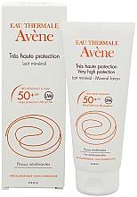 Parfumuri și produse cosmetice Солнцезащитный минеральный лосьон - Avene Sun Care SPF 50+ Mineral Lotion