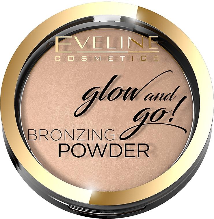 Pudră bronzer - Eveline Cosmetics Glow & Go Bronzing Powder