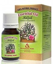 """Parfumuri și produse cosmetice Ulei esențial """"Coada-șoricelului"""" - Bulgarian Rose Milfoil Essential Oil"""
