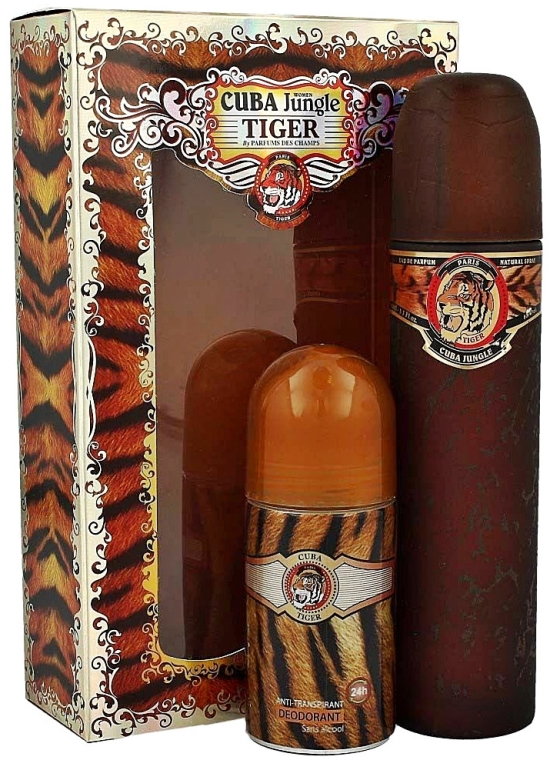 Cuba Jungle Tiger - Set (edp 100ml + deo 50ml) — Imagine N1