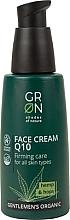 Parfumuri și produse cosmetice Cremă de față - GRN Gentlemen's Organic Q10 Hemp & Hop Face Cream