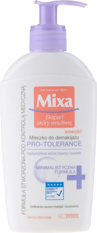 Молочко для лица - Mixa Pro-Tolerance Cleansing Milk — фото N1