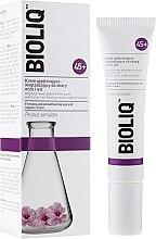 Parfumuri și produse cosmetice Cremă cu efect de nivelare și îmbunătățire a elasticității, pentru pielea din jurul ochilor și a buzelor - Bioliq 45+ Firming And Smoothening Eye And Mouth Cream