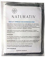 Parfumuri și produse cosmetice Mască criogenică pentru față - Naturativ Face Mask