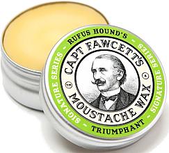 Parfumuri și produse cosmetice Ceară pentru mustăți - Captain Fawcett Triumphant Moustache Wax