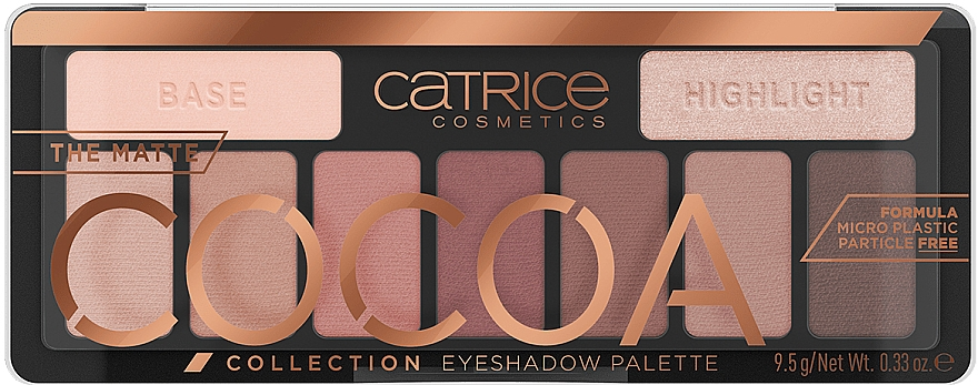 Paletă farduri de pleoape - Catrice The Matte Cocoa Collection Eyeshadow Palette