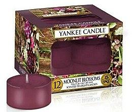 Parfumuri și produse cosmetice Lumânări aromate - Yankee Candle Tea Lights Candles Moonlit Blossoms