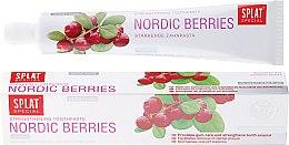 """Parfumuri și produse cosmetice Pastă de dinți """"Fructe de pădure de nord"""" - Splat Special Nordic Berries Toothpaste"""