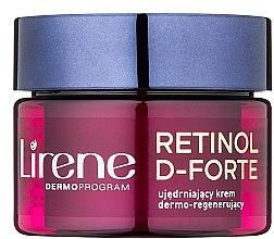 Parfumuri și produse cosmetice Crema de noapte anti-îmbătrânire pentru față - Lirene Retinol D-Forte Firming and Regenerating Night Cream 60+