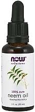 Духи, Парфюмерия, косметика Ulei de neem - Now Foods Solution Neem Oil