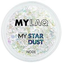 Parfumuri și produse cosmetice Pudră pentru unghii - MylaQ My Star Dust