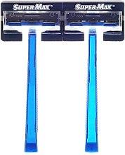 Parfumuri și produse cosmetice Set aparate de ras de unică folosință, 48 bucăți - Super-Max Twin Blade