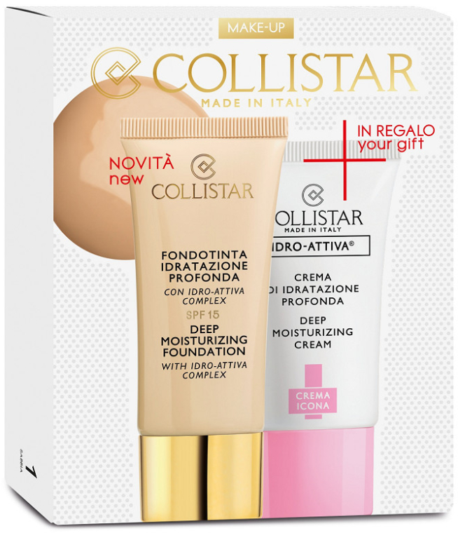 Set - Collistar Deep Moisturizing Avorio (foundation/30ml + cr/25ml) — Imagine N1