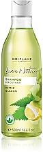 """Șampon pentru păr gras """"Urzică și lămâie"""" - Oriflame Love Nature Shampoo — Imagine N3"""