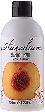 """Parfumuri și produse cosmetice Șampon pentru păr """"Peach"""" - Naturalium Shampoo And Conditioner Peach"""