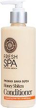 Parfumuri și produse cosmetice Balsam Bio pentru păr - Natura Siberica Fresh Spa Russkaja Bania Detox Natural Repairing Hair Conditioner Honey Sbiten