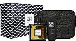 Parfumuri și produse cosmetice Guerlain L'Homme Ideal - Set (edt/100ml + sh/gel/75ml + bag)
