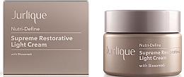 Parfumuri și produse cosmetice Cremă anti-îmbătrânire regenerantă pentru față - Jurlique Nutri-Define Supreme Restorative Light Cream