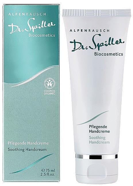 Успокаивающий крем для рук - Dr. Spiller Alpenrausch Soothing Hand Cream — фото N2