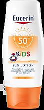 Parfumuri și produse cosmetice Loțiune de protecție solară cu factor de protecție UV SPF 50, pentru copii - Eucerin Sun Kids Lotion LSF 50+