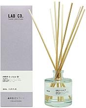 Parfumuri și produse cosmetice Difuzor de aromă - Ambientair Lab Co. Amber & Clove