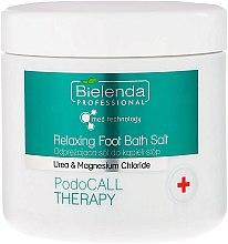 Sare de baie pentru picioare - Bielenda PodoCall Therapy Relaxing Foot Bath Salt — Imagine N1