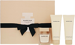Parfumuri și produse cosmetice Narciso Rodriguez Narciso Poudree - Set (edp/50ml + b/lot/75ml + sh/gel/75ml)