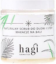 Parfumuri și produse cosmetice Scrub pentru mâini și picioare - Hagi Scrub