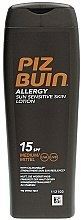 Parfumuri și produse cosmetice Loțiune protecție solară pentru corp - Piz Buin Allergy Sun Sensitive Skin Lotion SPF15
