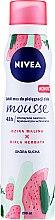 """Parfumuri și produse cosmetice Mousse pentru corp """"Zmeură sălbatică și ceai alb"""" - Nivea Wild Raspberry & White Tea Body Mousse"""