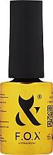 Parfumuri și produse cosmetice Top coat pentru oja semipermanentă - F.O.X Top