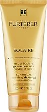 Parfumuri și produse cosmetice Gel hidratant de duș - Rene Furterer Solaire Sun Ritual Nourishing Shower Gel