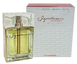 Parfumuri și produse cosmetice Al Haramain Signature - Apă de parfum