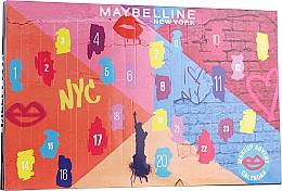 "Parfumuri și produse cosmetice Set ""Calendar adventist 2020"" - Maybelline Advent Calendar 2020"