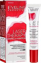 Parfumuri și produse cosmetice Cremă pentru pleoape - Eveline Cosmetics Laser Therapy Centella Asiatica
