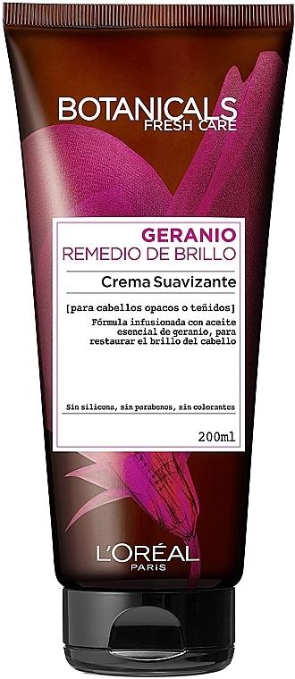 Crema de păr - L'Oréal Paris Botanicals Geranium Cream — Imagine N1