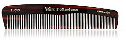 Духи, Парфюмерия, косметика Расческа карманная мужская, 12,5 см, коричневый T 013 - Taylor of Old Bond Street