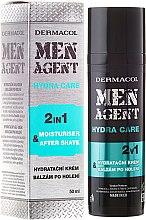 Parfumuri și produse cosmetice Balsam după ras - Dermacol Men Agent Moisturiser After Shave