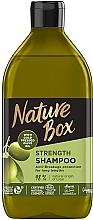 Parfumuri și produse cosmetice Șampon cu ulei de măsline pentru păr lung - Nature Box Shampoo Olive Oil