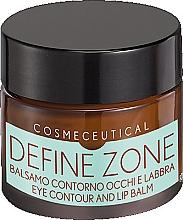 Parfumuri și produse cosmetice Balsam pentru zona ochilor și buzelor - Surgic Touch Define Zone Eye Contour And Lip Balm