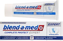 Parfumuri și produse cosmetice Pastă de dinți - Blend-a-med Oral-B Complete Protect Expert Strong Teeth Toothpaste