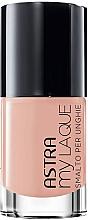Parfumuri și produse cosmetice Lac de unghii - Astra Make-up My Laque