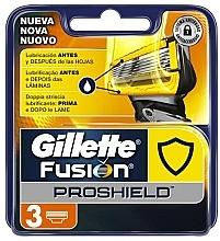 Parfumuri și produse cosmetice Casete de rezervă pentru aparat de ras, 3 bucăți - Gillette Fusion ProShield
