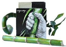 Parfumuri și produse cosmetice Săpun natural cu ulei de ienupăr și cărbune - Uoga Uoga Bravo! Natural Detoxifying Soap