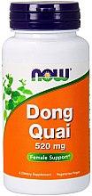 """Parfumuri și produse cosmetice Capsule """"Dong Quai"""", 520 mg - Now Foods Dong Quai"""
