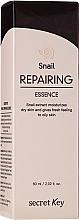Parfumuri și produse cosmetice Esență revitalizantă cu extract de mucus de melc - Secret Key Snail+EGF Repairing Essence
